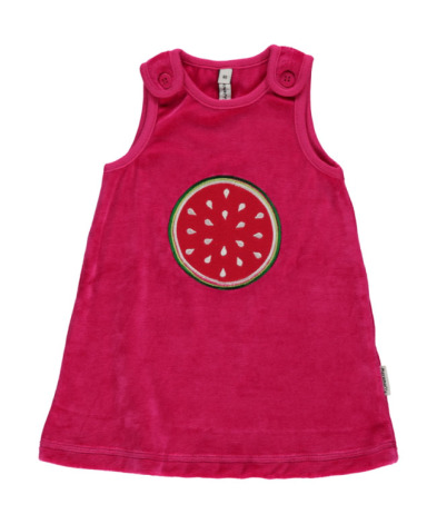 Maxomorra Dress Embroid Watermelon