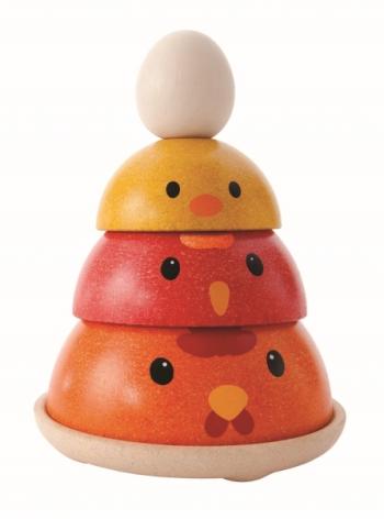 Plan Toys Chicken Nesting