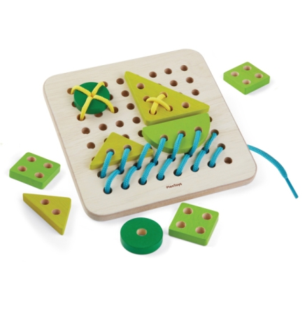 Plan Toys Syplatta Lacing board