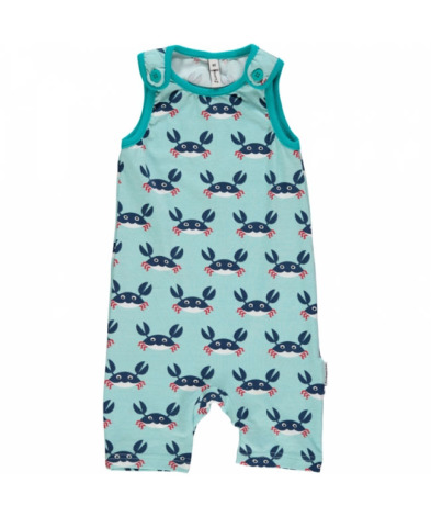 Maxomorra Playsuit Short Crab