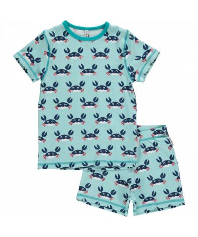Maxomorra Pyjamas Set SS Crab