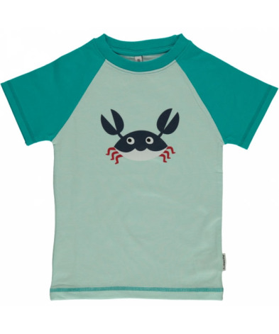 Maxomorra Top SS Print Crab