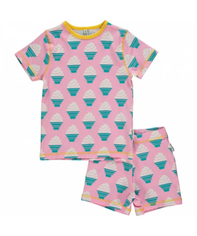 Maxomorra Pyjamas Set SS Icecream