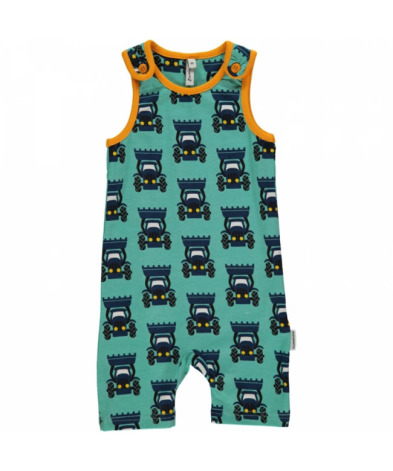 Maxomorra Playsuit Short Tractor