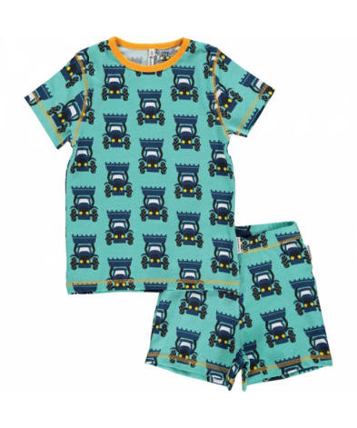 Maxomorra Pyjamas Set SS Tractor