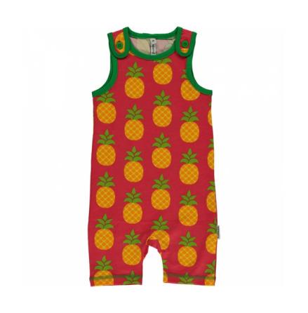 Maxomorra Playsuit Short Pineapple