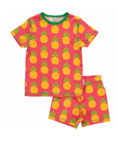 Maxomorra Pyjamas Set SS Pineapple
