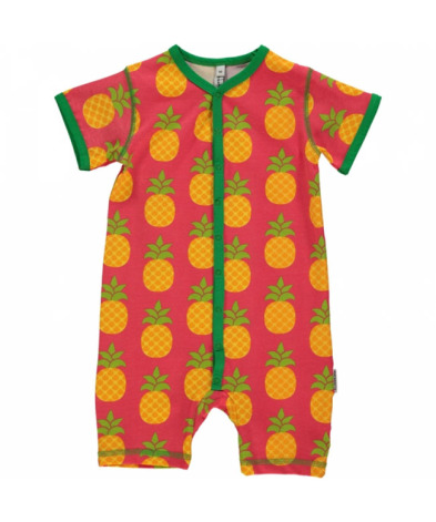 Maxomorra Pyjamas SS Pineapple
