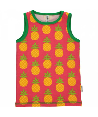 Maxomorra Tank Top Pineapple