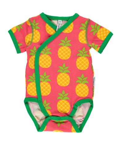 Maxomorra Kimono Body SS Pineapple