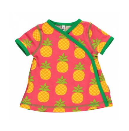 Maxomorra Dress Wrap Pineapple
