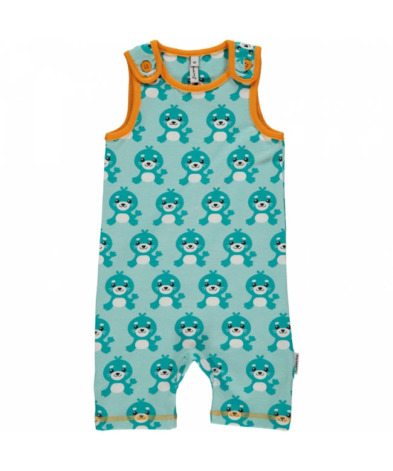 Maxomorra Playsuit Short Seal