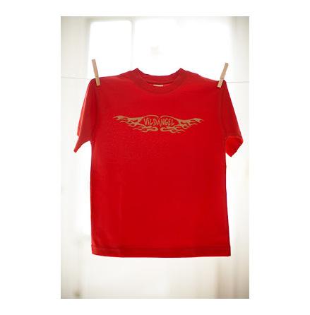 Vildängel t-shirt vildängel röd