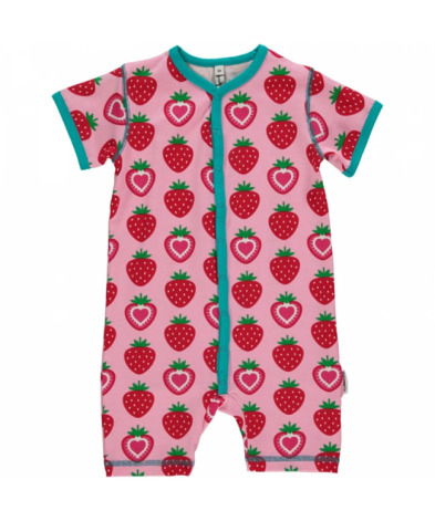 Maxomorra Pyjamas SS Strawberry