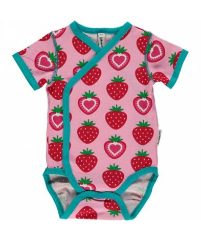 Maxomorra Kimono Body SS Strawberry