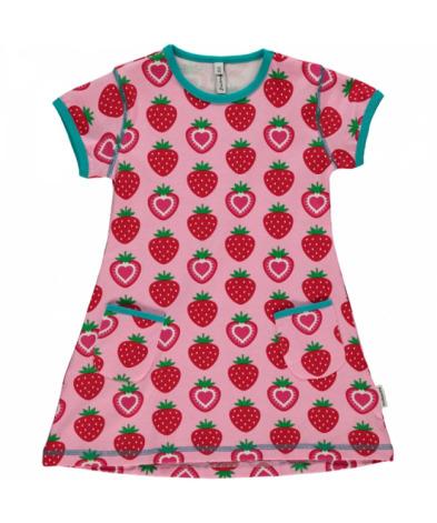 Maxomorra Tunika SS Strawberry