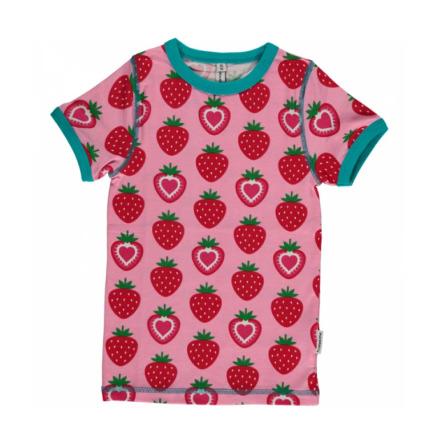 Maxomorra Top SS Strawberry