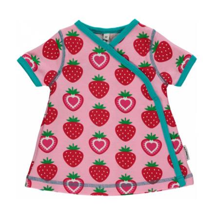 Maxomorra Dress Wrap Strawberry
