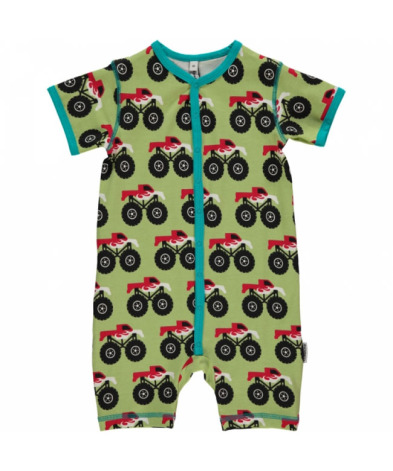 Maxomorra Pyjamas SS Monster Truck