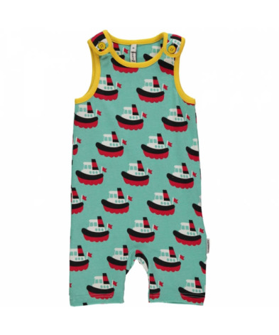 Maxomorra Playsuit Short Boat