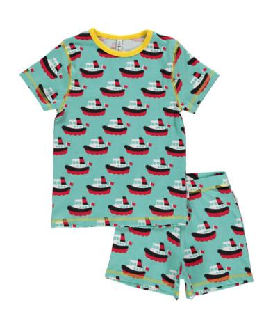 Maxomorra Pyjamas Set SS Boat