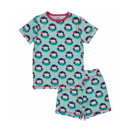 Maxomorra Pyjamas Set SS Mermaid