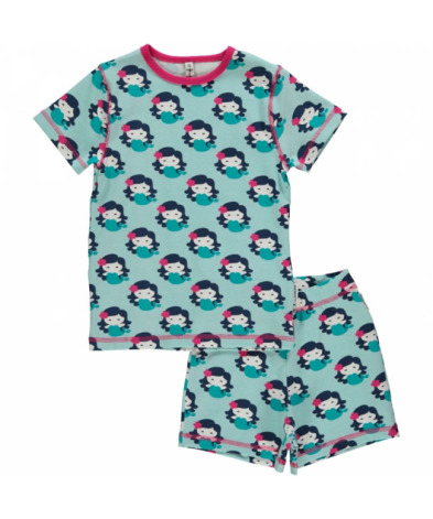 Maxomorra Pyjamas Set SS Mermaid