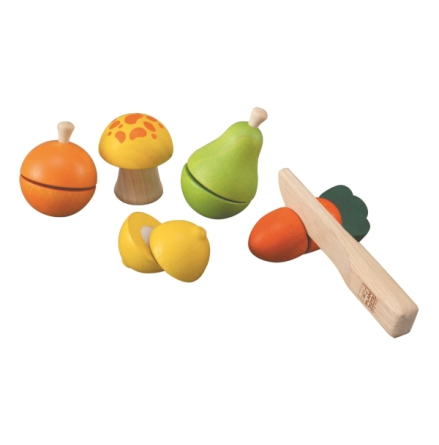 Plan Toys Fruit Vegetable playset