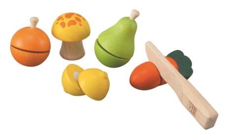 Plan Toys Fruit Vegetable playset