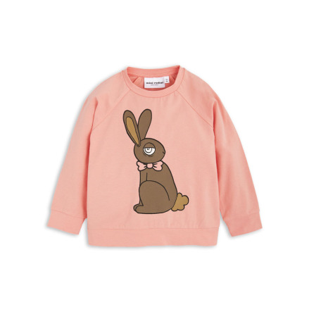 Mini Rodini Rabbit Cuff LS Tee Pink