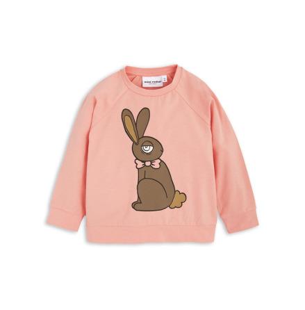 Mini Rodini Rabbit Cuff LS Tee Pink