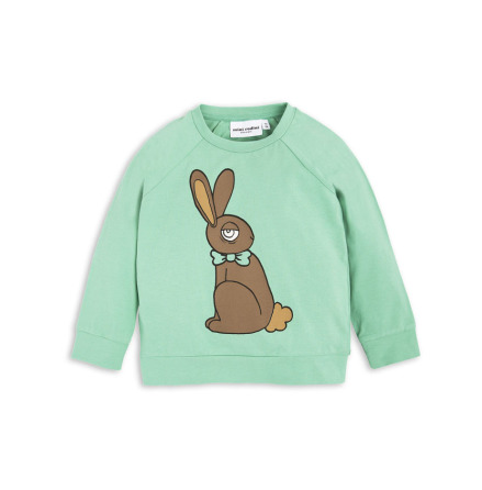 Mini Rodini Rabbit Cuff LS Tee Green