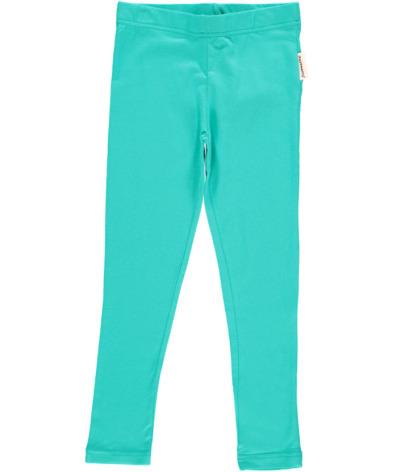 Maxomorra Leggings Turquoise