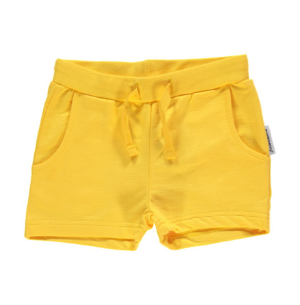 Maxomorra Shorts Yellow