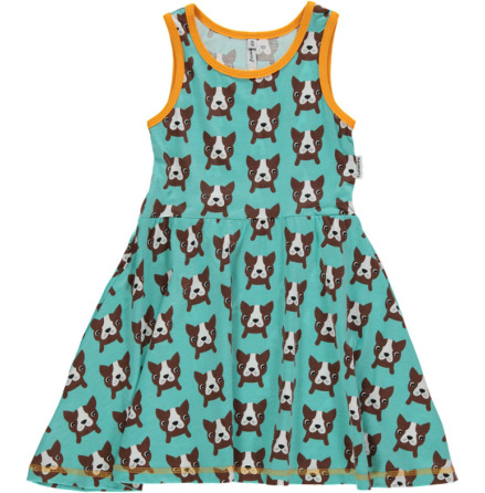 Maxomorra Dress Gathered NS Dog
