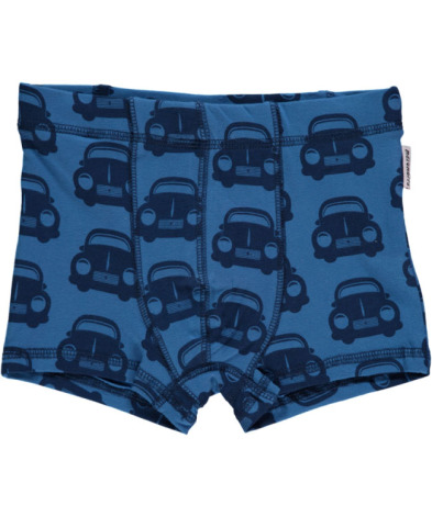 Maxomorra Boxer Cars Blue