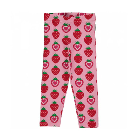 Maxomorra Cropped Leggings Strawberry