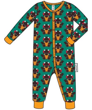 Maxomorra Pyjamas LS Dragon