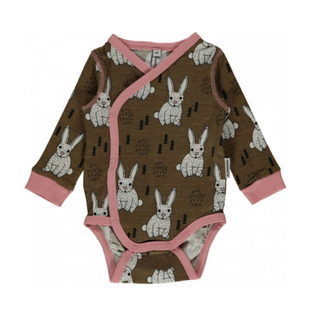 Maxomorra Wrap Body LS Rabbit