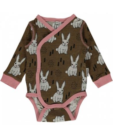 Maxomorra Wrap Body LS Rabbit
