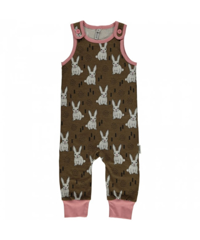 Maxomorra Playsuit Rabbit