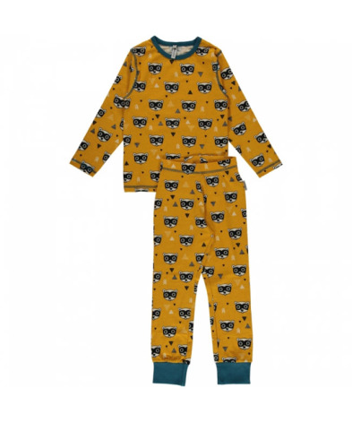 Maxomorra Pyjamas Set LS Bandit