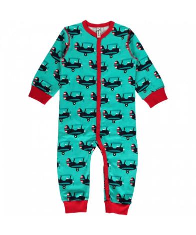 Maxomorra Pyjamas LS Plane