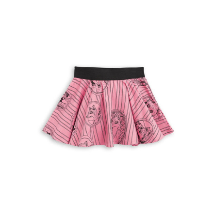 Mini Rodini Fox Family Skirt Pink