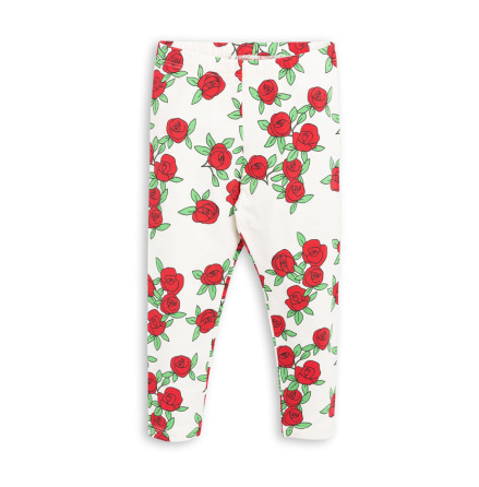 Mini Rodini Rose Leggings Offwhite