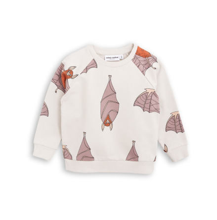 Mini Rodini Bat Sweatshirt Light Grey