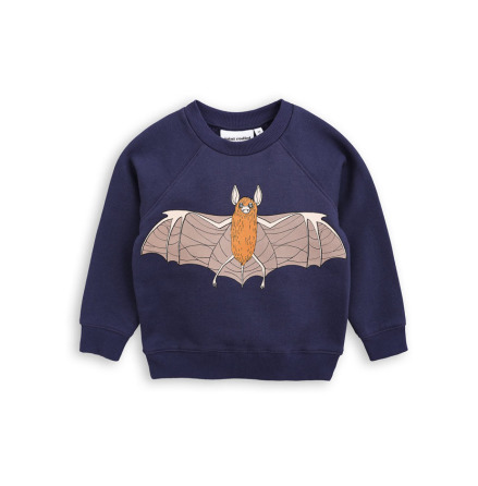 Mini Rodini Flying Bat SP Sweatshirt Navy