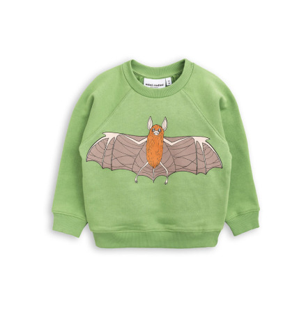 Mini Rodini Flying Bat SP Sweatshirt Green