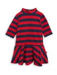 Mini Rodini Blockstripe Dance Dress Red