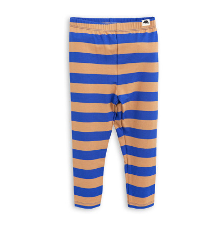 Mini Rodini Blockstripe Leggings Blue